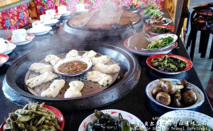 阿尔山美食山野菜