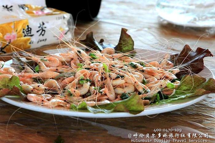 海拉尔呼伦湖鱼宴
