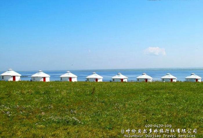 呼伦贝尔草原蒙古包