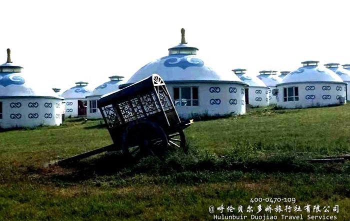 呼伦贝尔草原蒙古部落