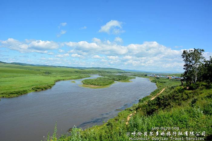 临江的额尔古纳河