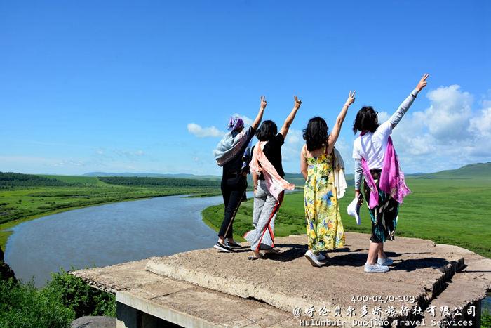 额尔古纳河照片