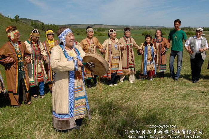 呼伦贝尔敖鲁古雅使鹿部落