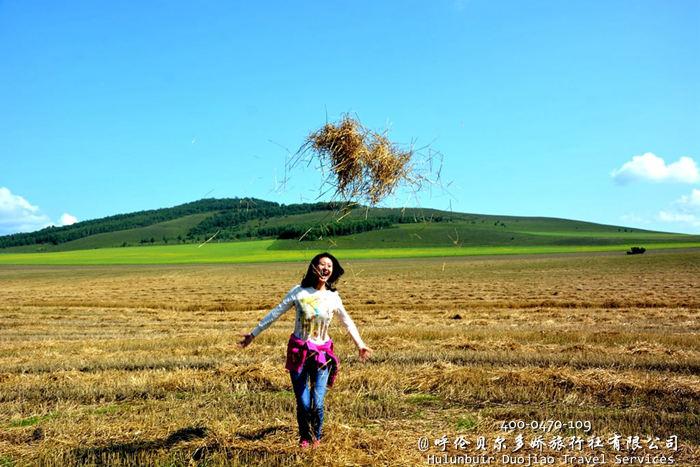 呼伦贝尔草原秋色