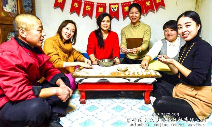 呼伦贝尔冬季饺子