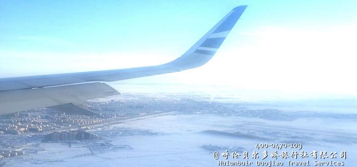 呼伦贝尔冬季景色
