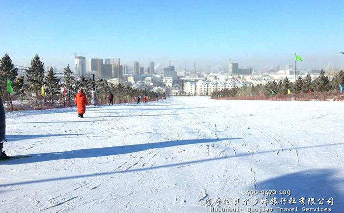 呼伦贝尔东山滑雪场