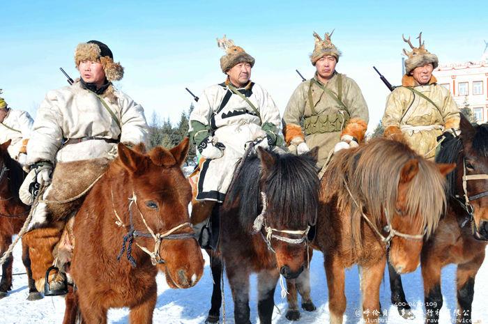 呼伦贝尔三少民族之一的鄂伦春族