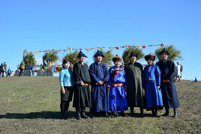 呼伦贝尔的鄂温克族瑟宾节