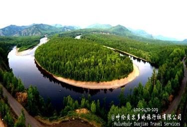 莫尔道嘎国家森林公园,白鹿岛
