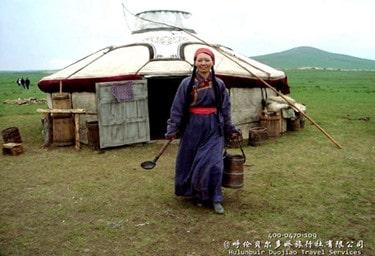 呼伦贝尔原生态牧民家庭