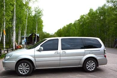 呼伦贝尔旅游车型_商务旅行车