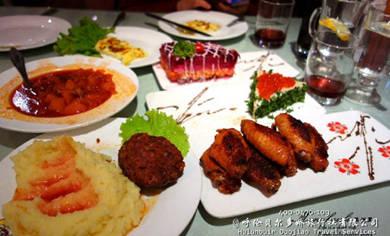 呼伦贝尔边境游_异国风情的俄式西餐