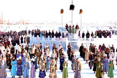 呼伦贝尔冬季民族节庆特色5日游