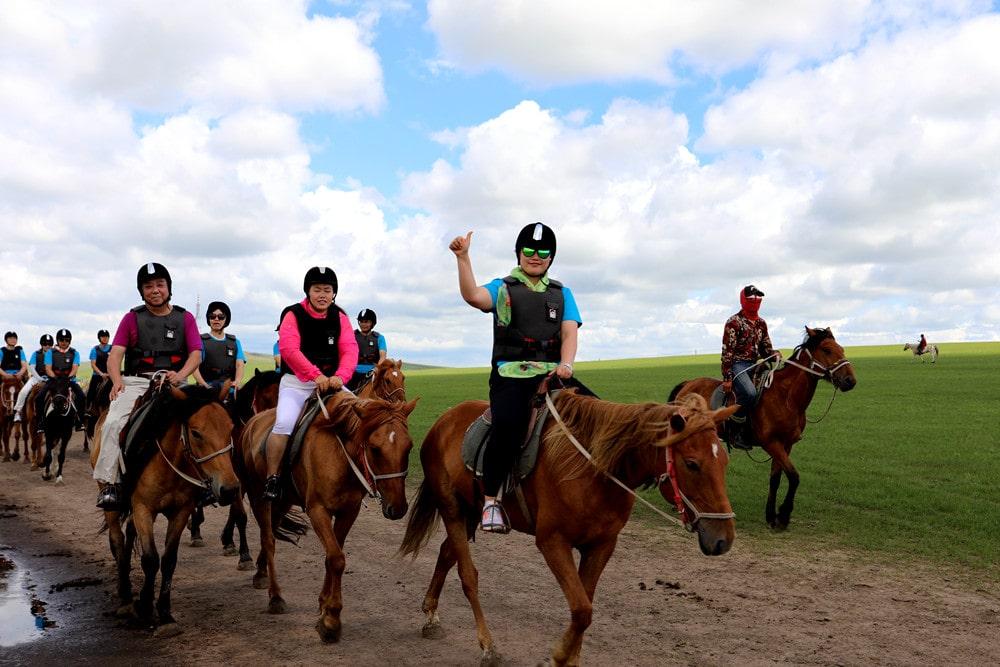 呼伦贝尔大草原骑马